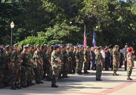 Hmong Veterans Honored at the State Captitol