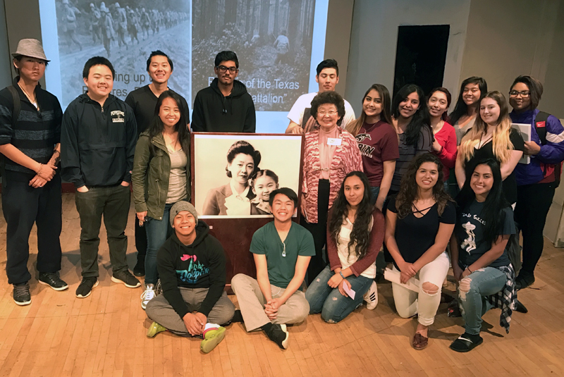 Florin High School's Law Academy Hosts Marielle Tsukamoto