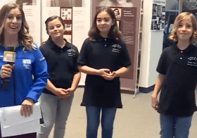 Anne Frank House Exhibit – Carroll Elementary School