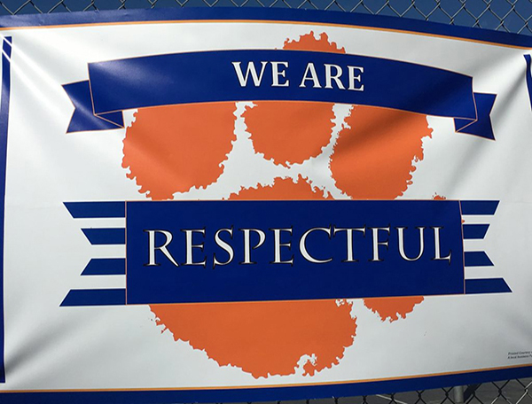 We Are Respectful
