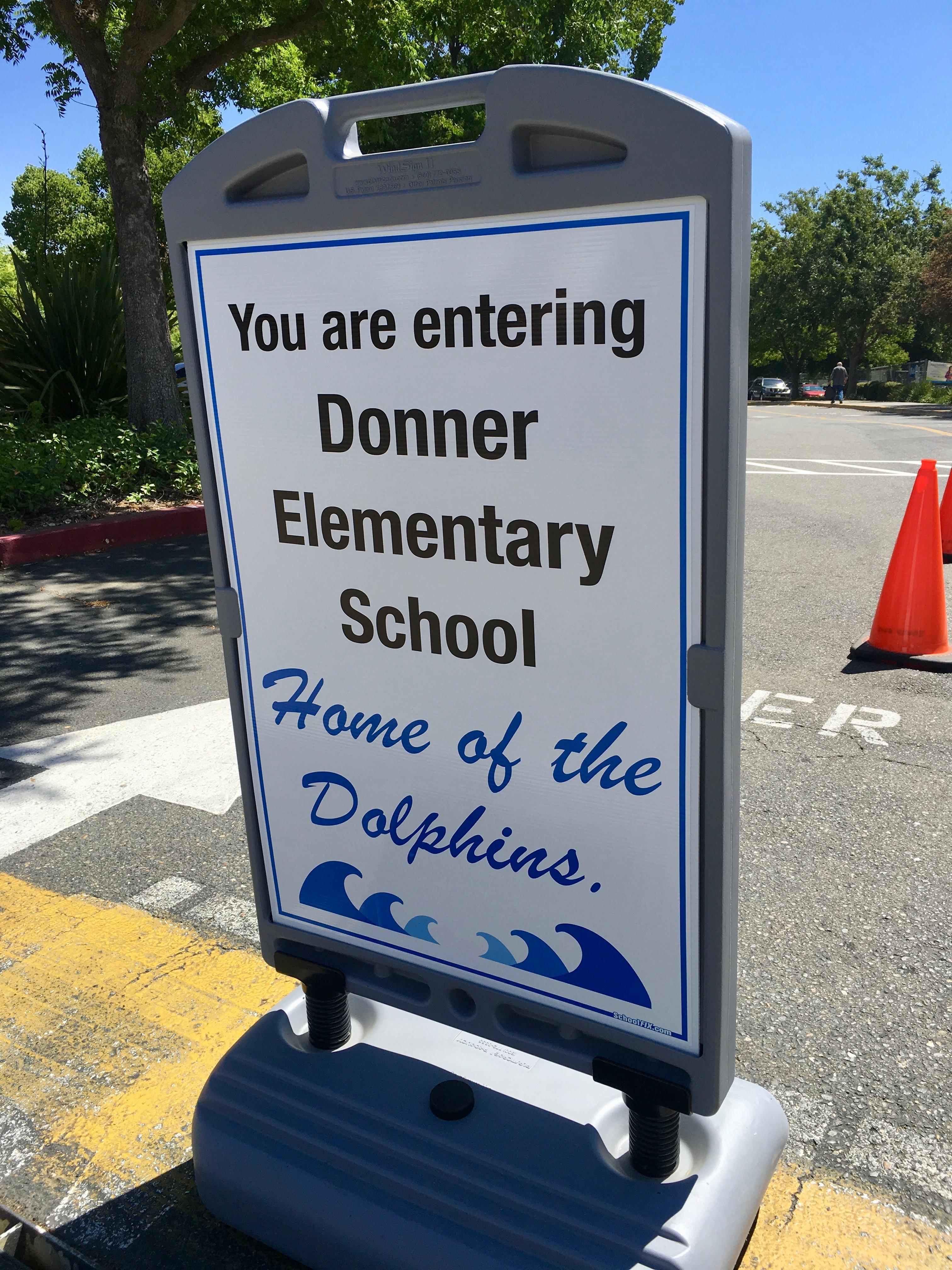 Entering School Grounds