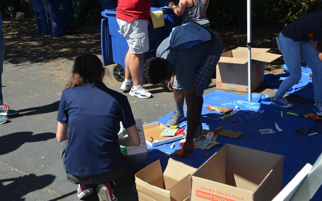 """A Busy Summer for Schools/Students Committed to Repurposing School Supplies Through """"Reuse Roundup"""""""