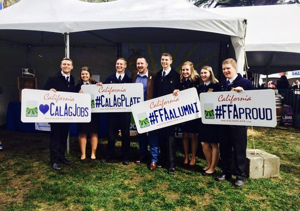 Elk Grove Unified's FFA Students Find Annual California Ag Day Activities Second Nature