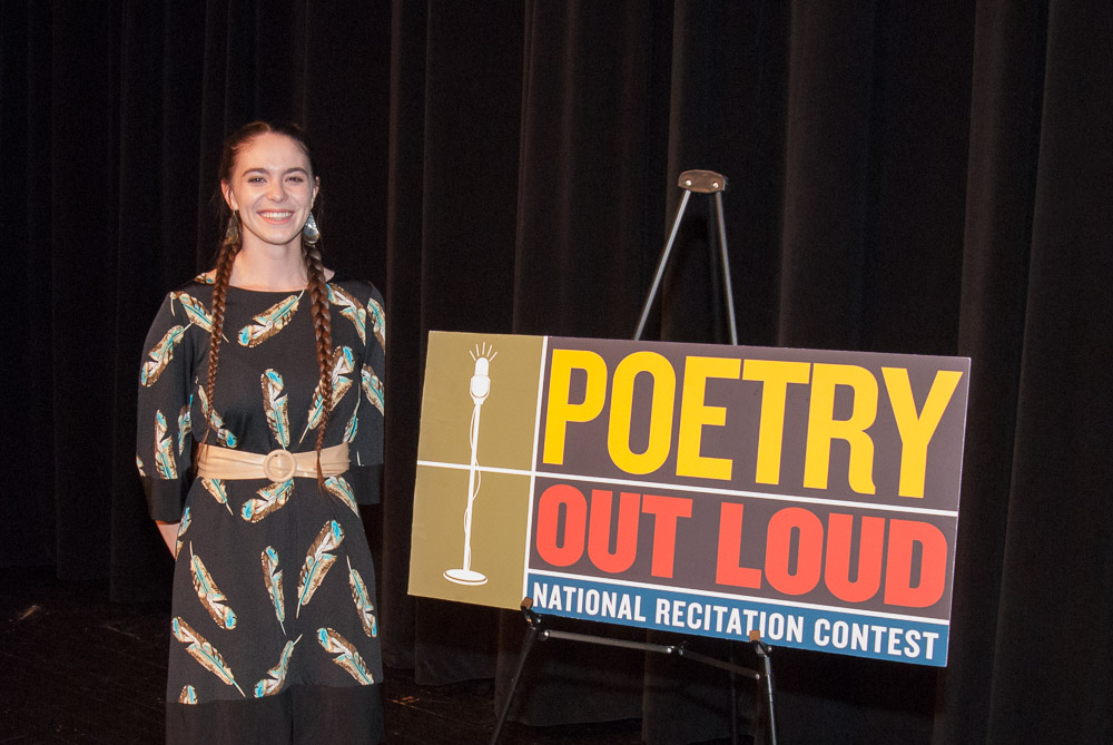 Pleasant Grove High Student and Member of the Ione Band of Miwok Indians Rose Above 12 Other Poets in 2018 Poetry Out Loud Competition