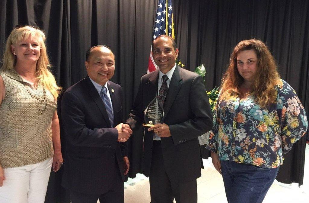 City of Elk Grove Mayor Steve Ly Awards Harriet Eddy Middle School National Junior Honor Society With 2018 Mayor's Volunteer Award