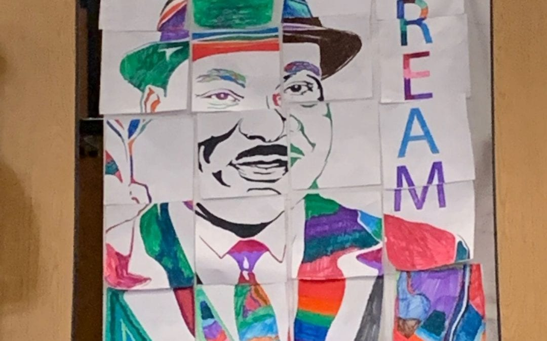 Union House Elementary School Pioneers Honor Martin Luther King, Jr.