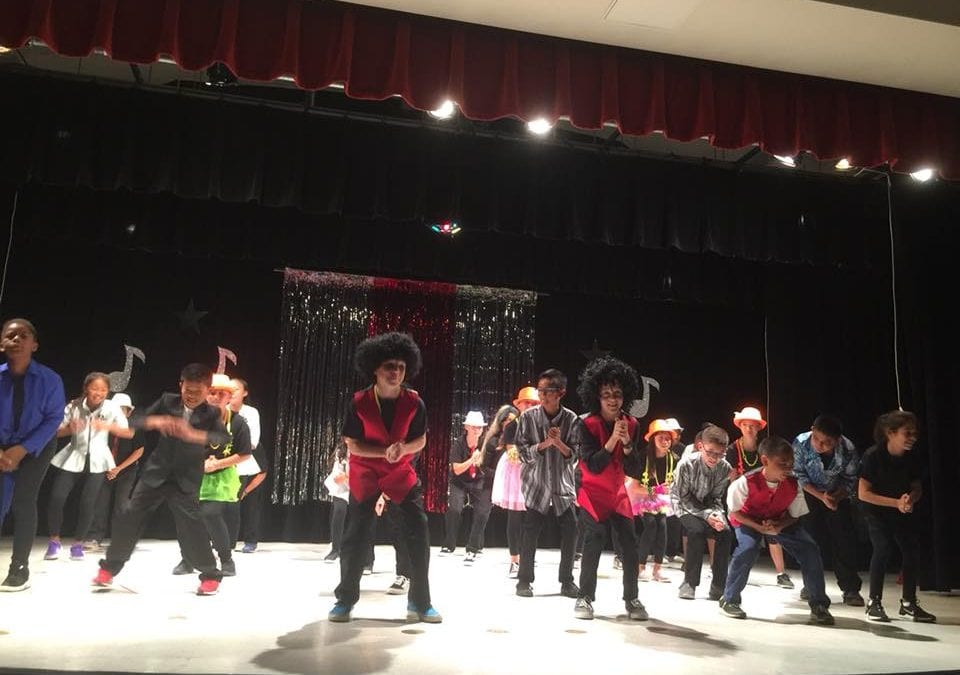 Joseph Sims Elementary School Students Are Shining Stars in the School's New Visual and Performing Arts Focus