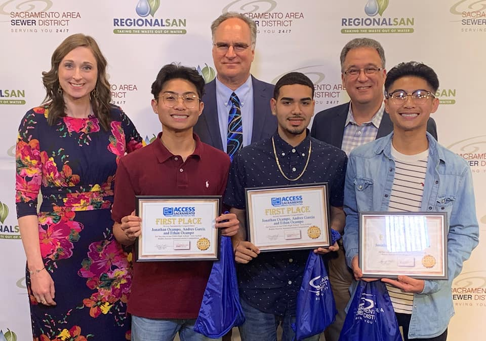 Nine Franklin High School Students Wow Government Agency Judges and Receive Multiple Awards for Public Service Announcement (PSA) Videos