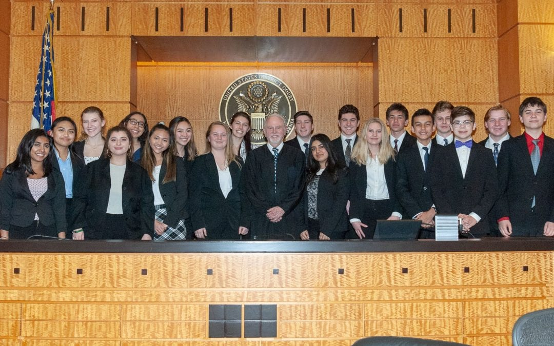 Deliberations Prove Successful for Elk Grove High School Mock Trial Team in Regional Competition