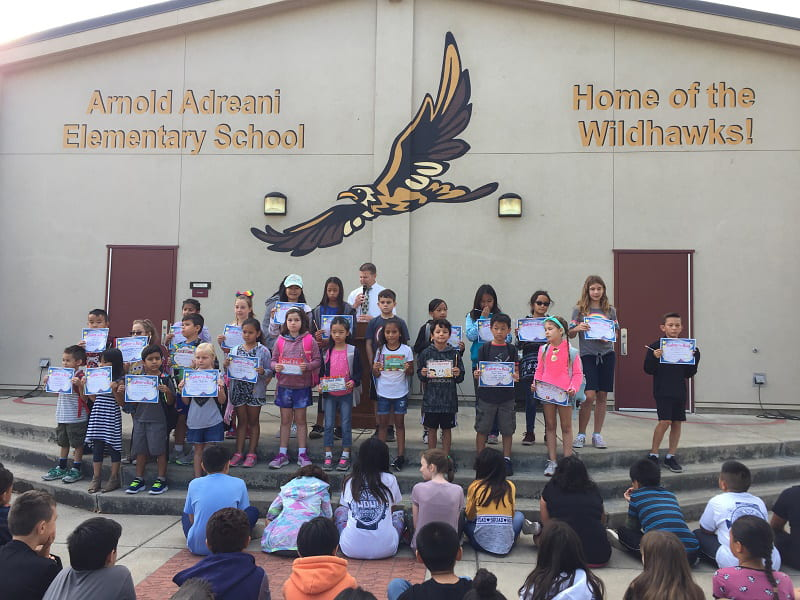 Arnold Adreani Elementary Receives National Blue Ribbon School Designation for Commitment to High Quality Education