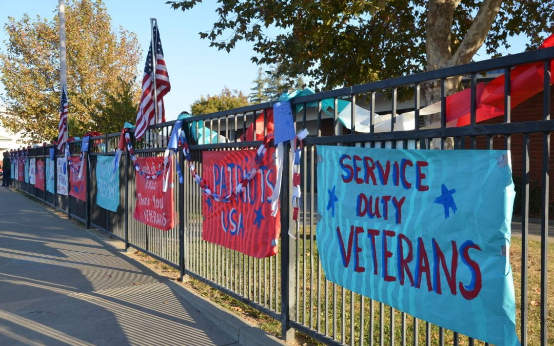 Samuel Kennedy Elementary Celebrates Veterans Day