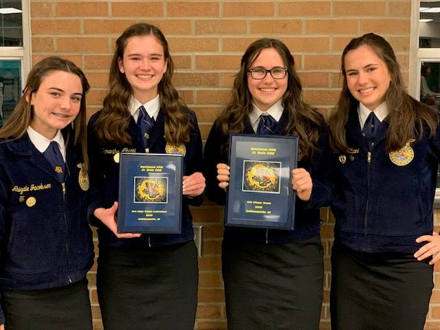 Elk Grove High School Agriculture Students Receive Awards at 2019 National FFA Convention and Expo