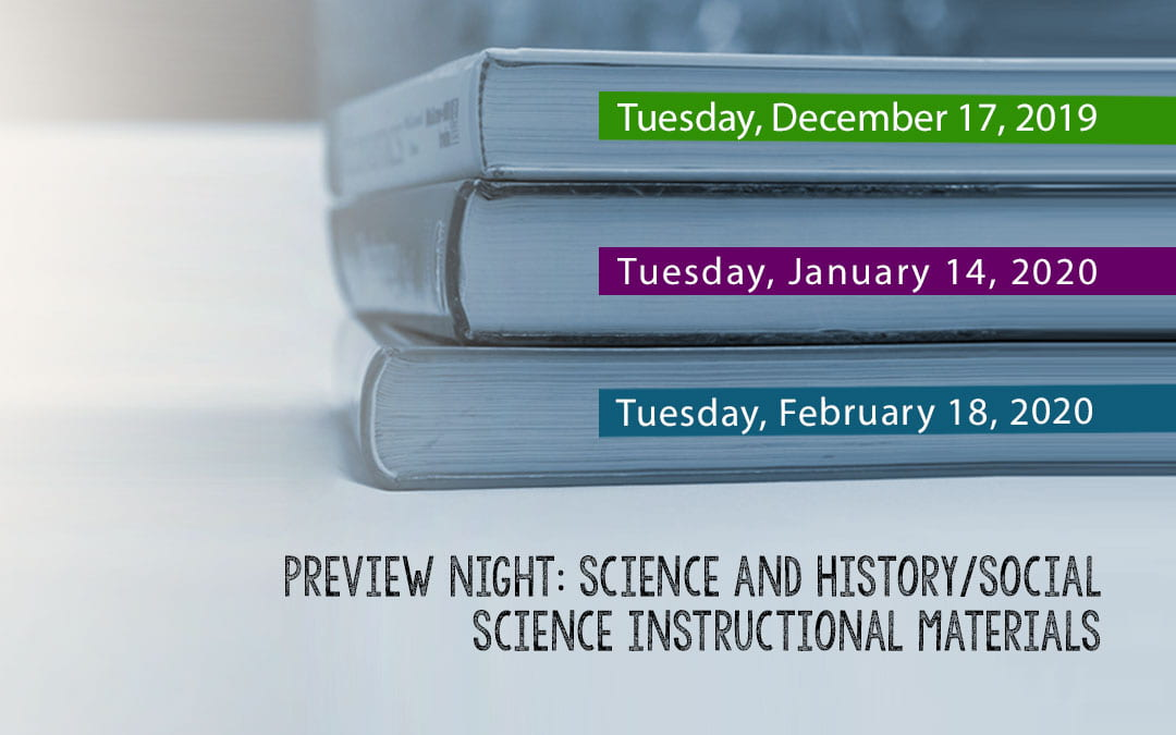 Elk Grove Unified Invites Parents and Community Members to Preview New Instructional Materials for 6th-12th Grade Science and 10th-12th Grade History/Social Science