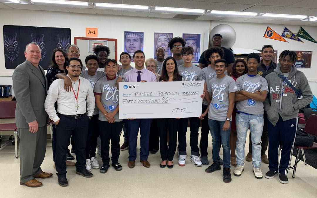 """""""Improve Your Tomorrow"""" Organization Receives $50,000 From AT&T at Florin High School to Continue to Mentor Diverse Students"""