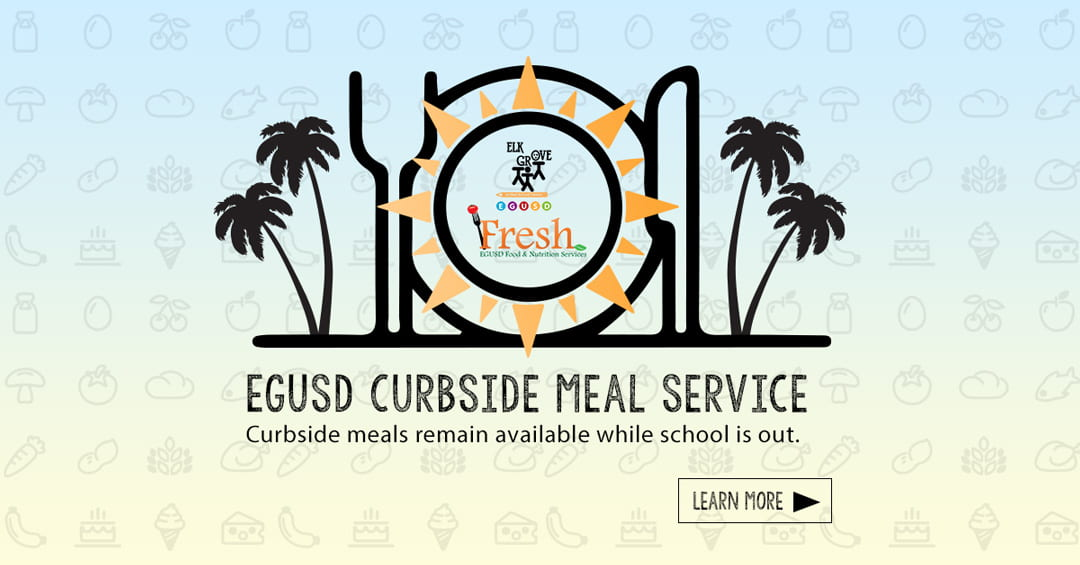 EGUSD Curbside Meal Service Remains