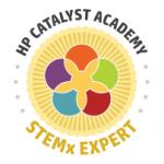 Stem X digital badge