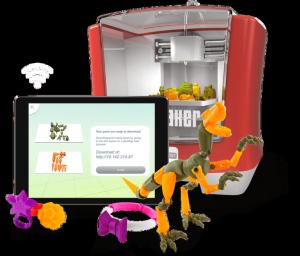 Mattel's ThingMaker 3D printer