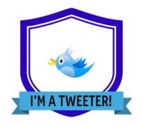 Tweeter digital badge