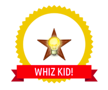 WHIZ Kid! Digital Badge