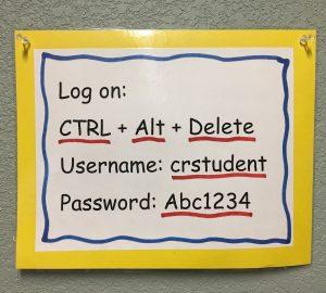 log on reminder