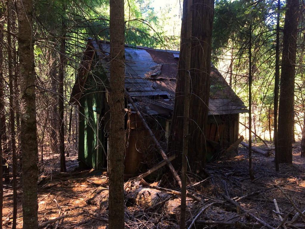 old miner's cabin