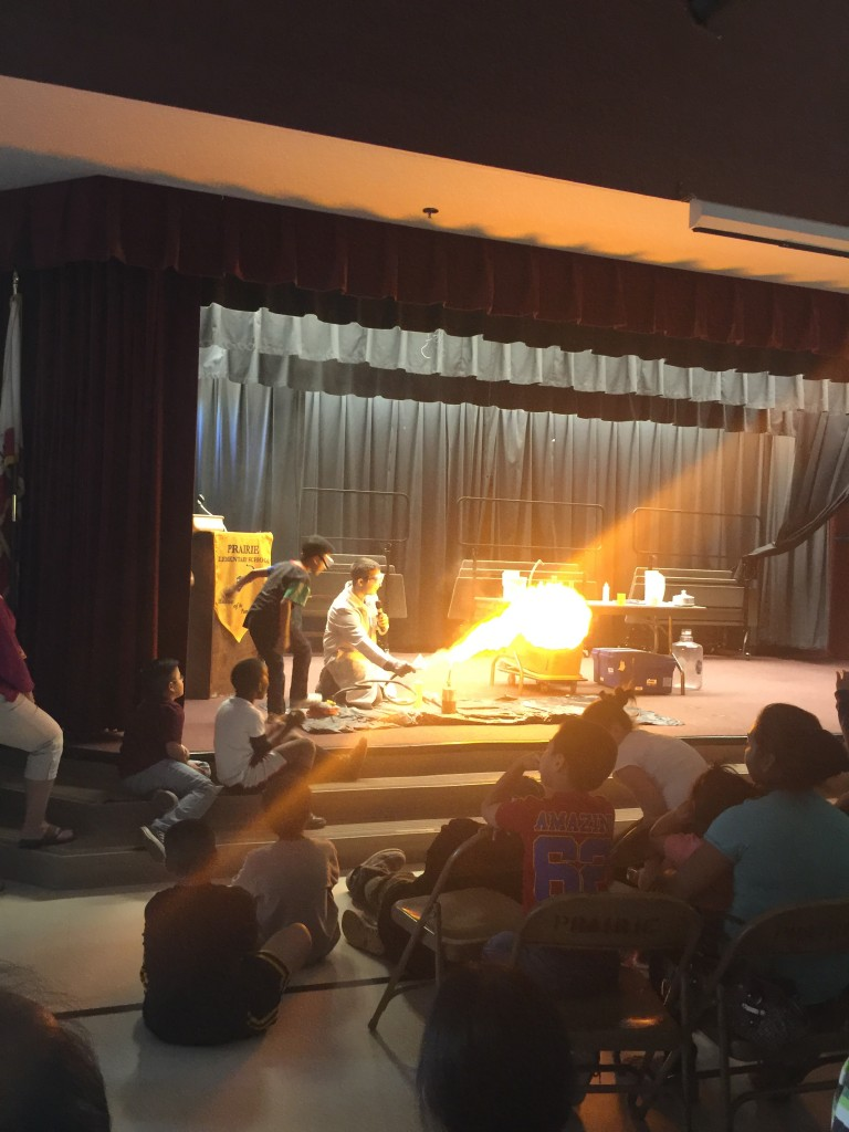Prairie Hosts Mad Science for Science Fair
