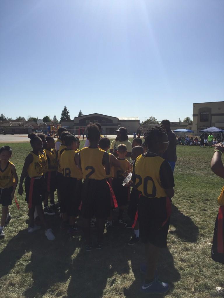Flag Football Team makes the Playoffs