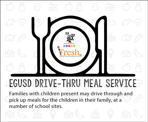 EGUSD Drive-Thru Meal Service