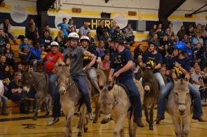 EGHS' SAGE Academy Donkey Races