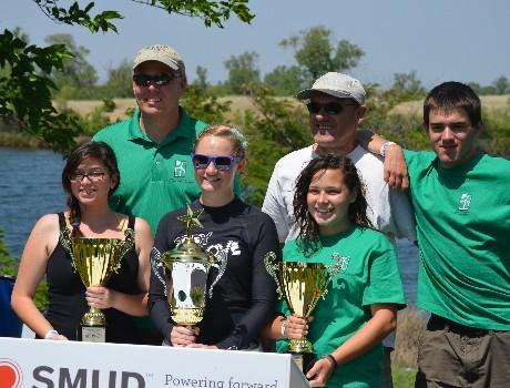 2012-2014 winners of SMUD's Northern CA Solar Regatta