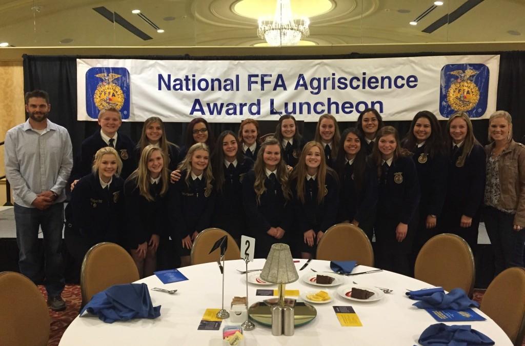 Elk Grove Earns Multiple FFA Awards