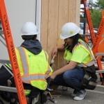 Sheldon High School Engineering and Construction Pathway Students