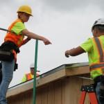 Sheldon High School Building Trades Students