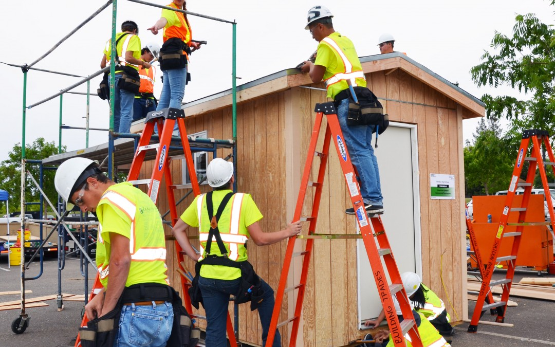2015 Design Build Competition With Sheldon and Daylor High School Students