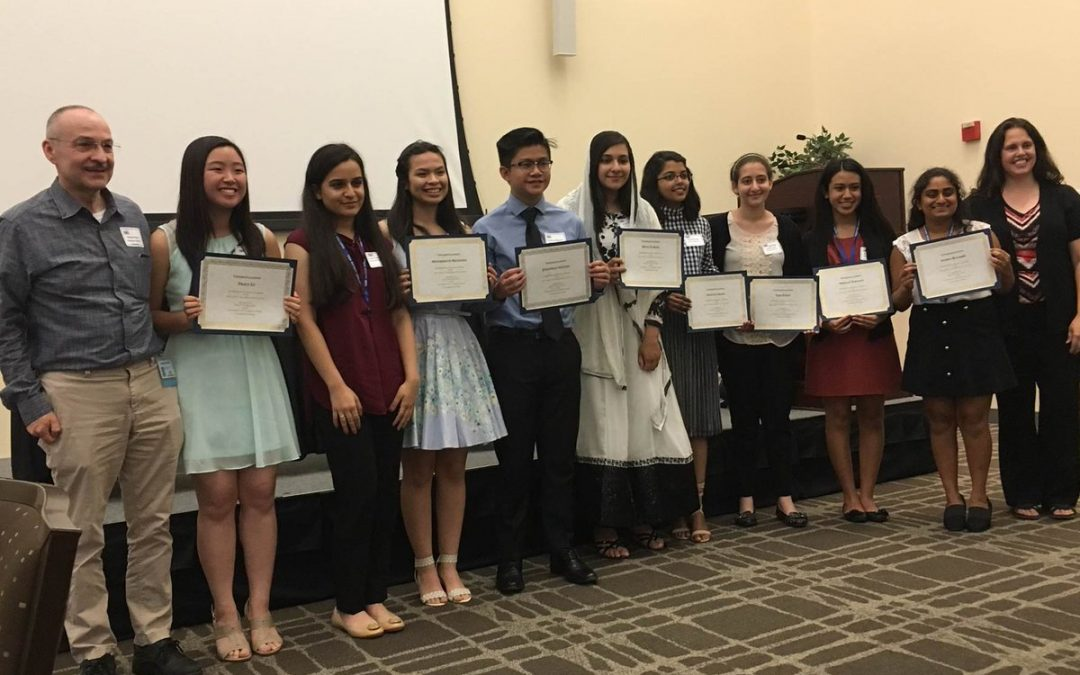 Sheldon High School Students Receive Top Honors in 2017 Teen Bio-Tech Challenge Website Building Competition