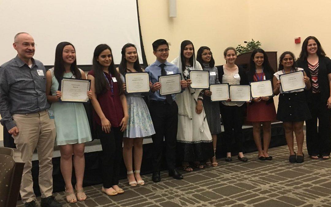 Sheldon High School Students Receive Top Honors in 2017 Teen Bio-Tech Challenge Website Building Competition