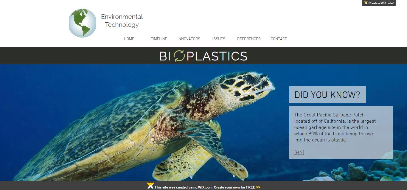 Website developed by SHS BioTech Student.