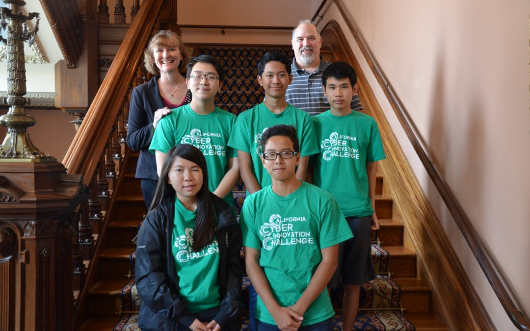 DATA Academy's CyberPatriot Team Recognized by California State Lawmakers