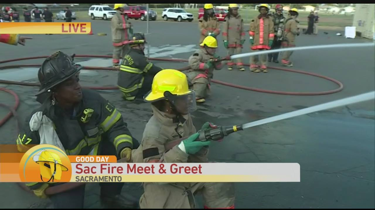 Good Day Sacramento Covers VHS Fire and Emergency Pathway Launch