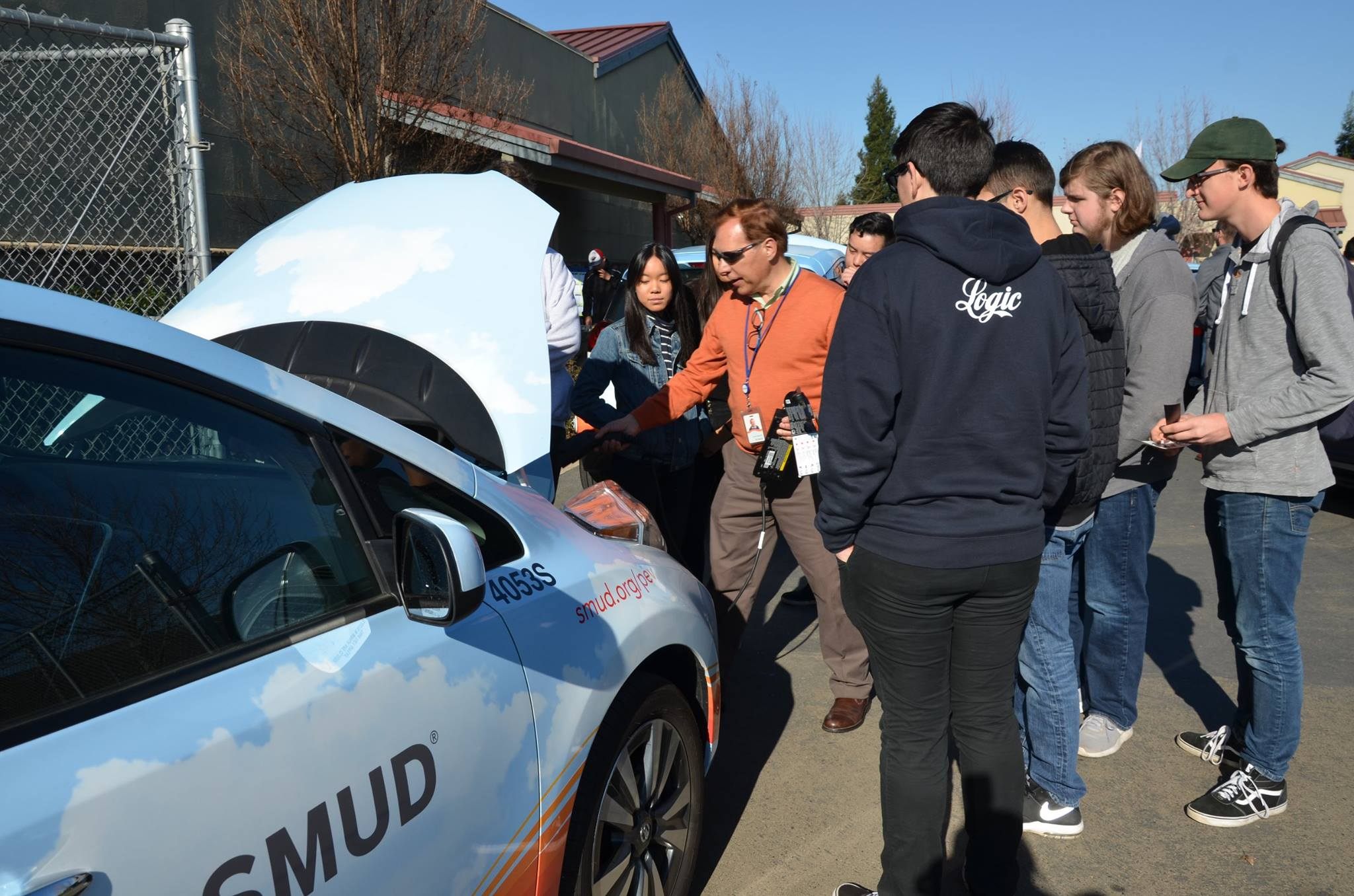 PGHS Students Learn More about EV Charging Capabilities