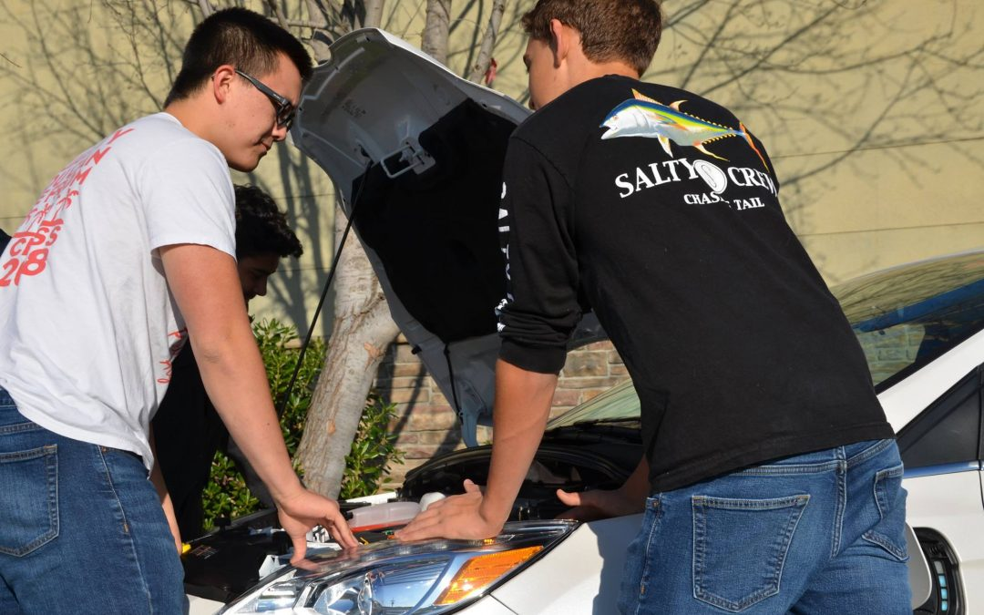 PGHS IDEA Academy Students Research in-Home EV Charging Capabilities