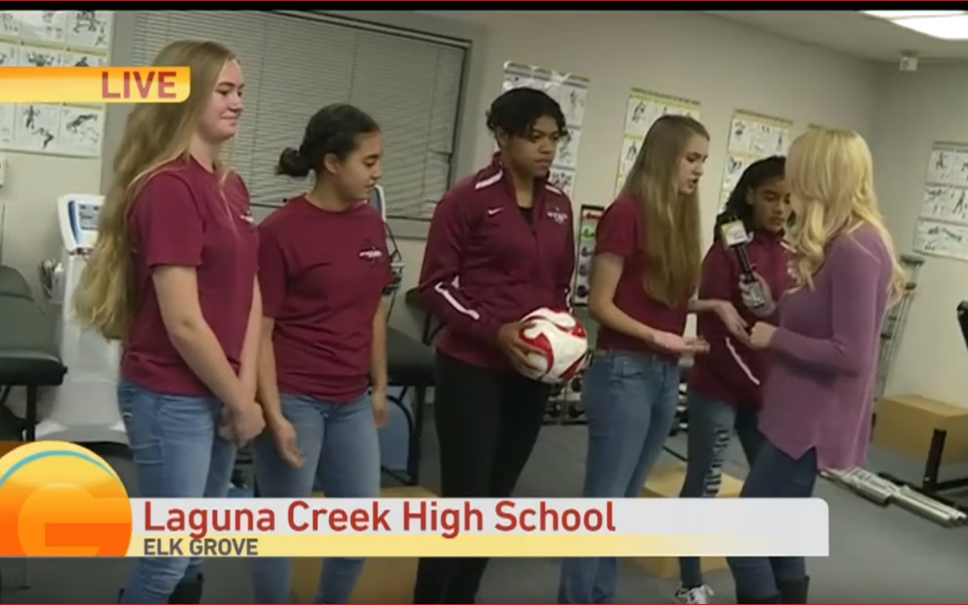 Laguna Creek High's Sports Careers Academy Students Jump into Action