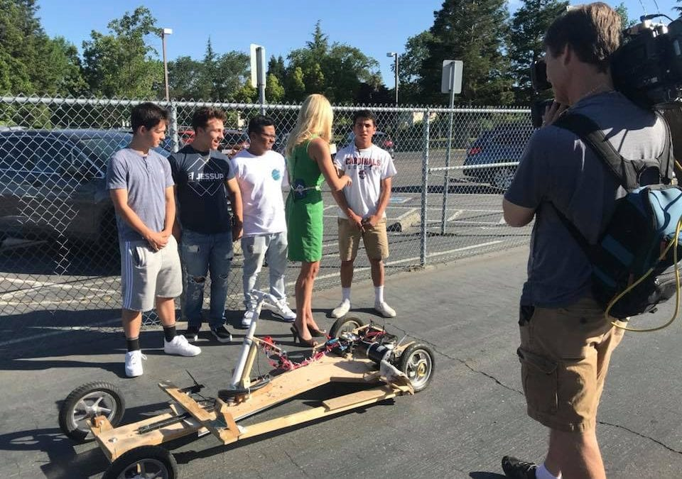 Laguna Creek's GETA Academy Tests Electric Go-Karts