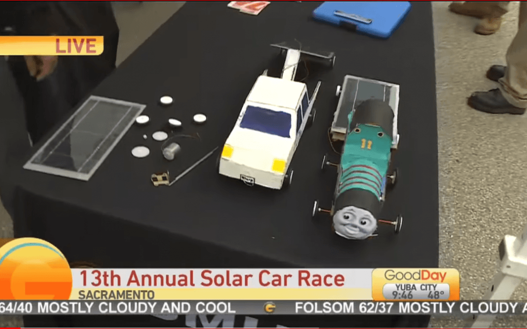 LCHS Green Energy Technology Academy Participate in SMUD's Solar Car Race