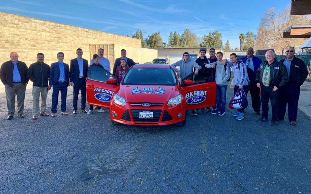 Elk Grove High School Automotive-Tech Pathway Ignites New Partnership With Elk Grove Ford