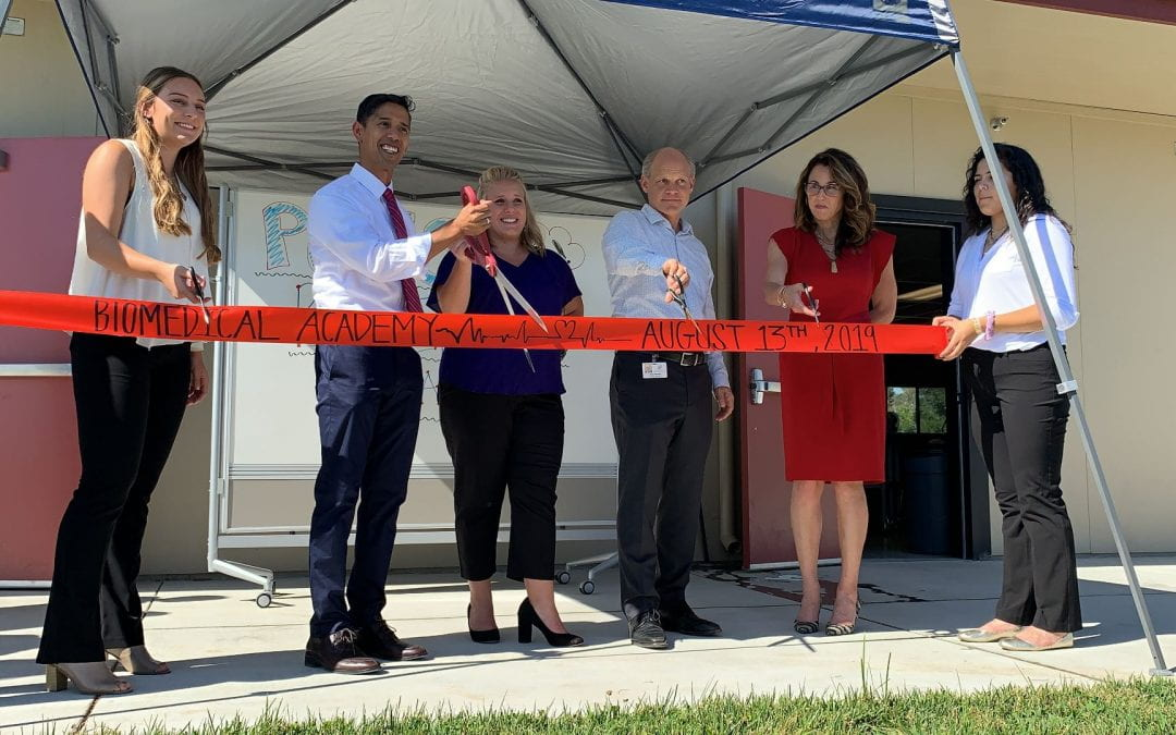 Pleasant Grove High School Unveils New Biomedical Academy Classrooms