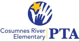 Cosumnes River Elementary PTA logo