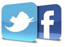 Connect with us through twitter and facebook