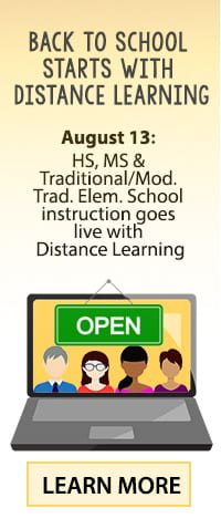 Back to School - Distance Learning