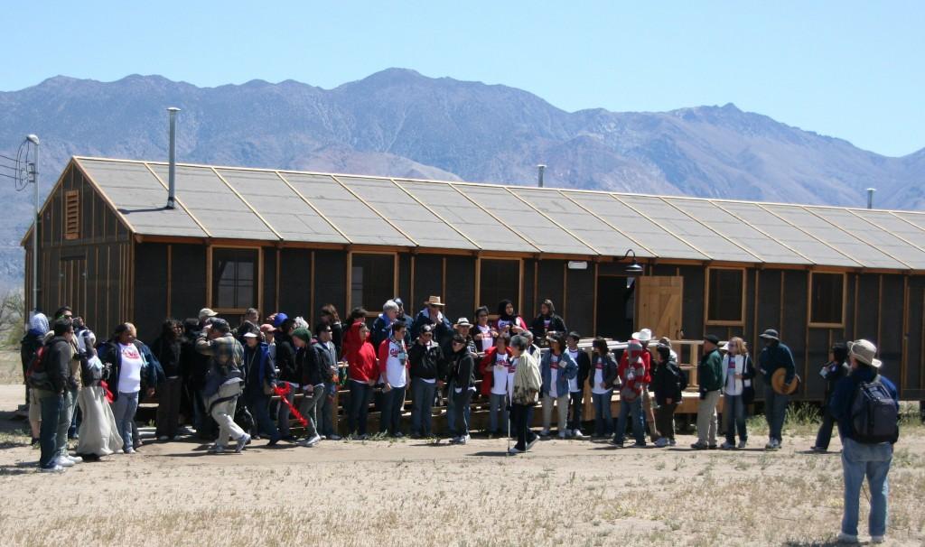 Manzanar barracks - partial egusd group photo